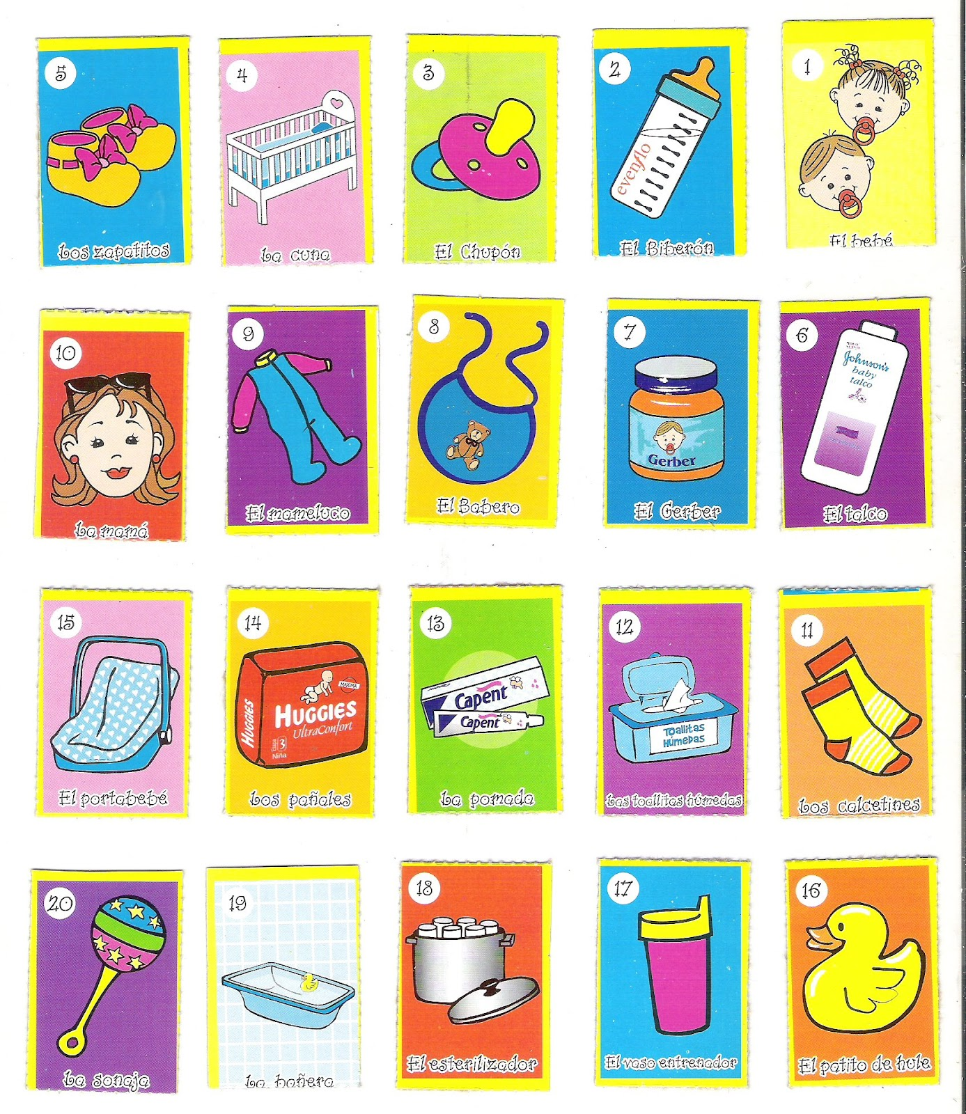 Pin Loteria Para Baby Shower Imprimir Gratis Pdf Imagui on Pinterest