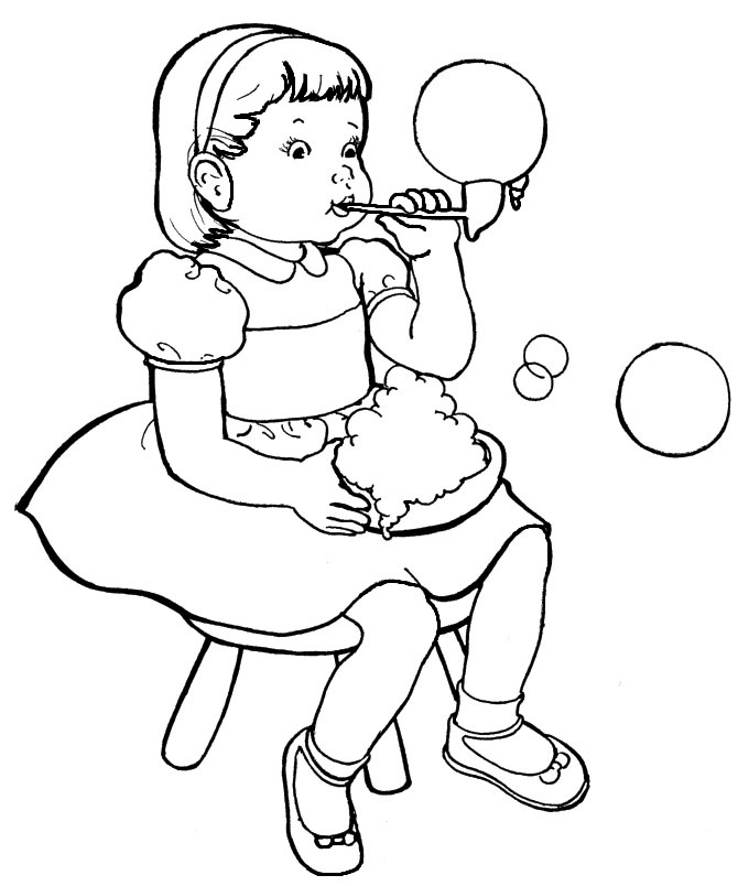 Family, People and Jobs Coloring Pages: Photos Kids To ...