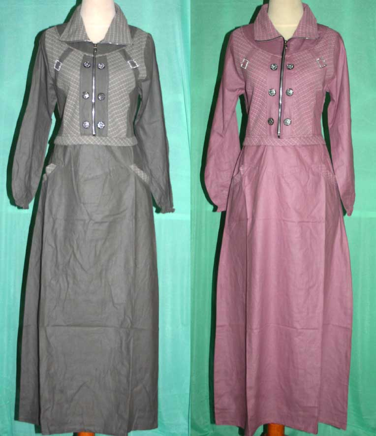 Baju gamis lube 39 c wafiq griya busana diskon besar Baju gamis elif