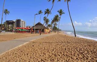 Praia da Jatiúca - Praias de Maceió - AL