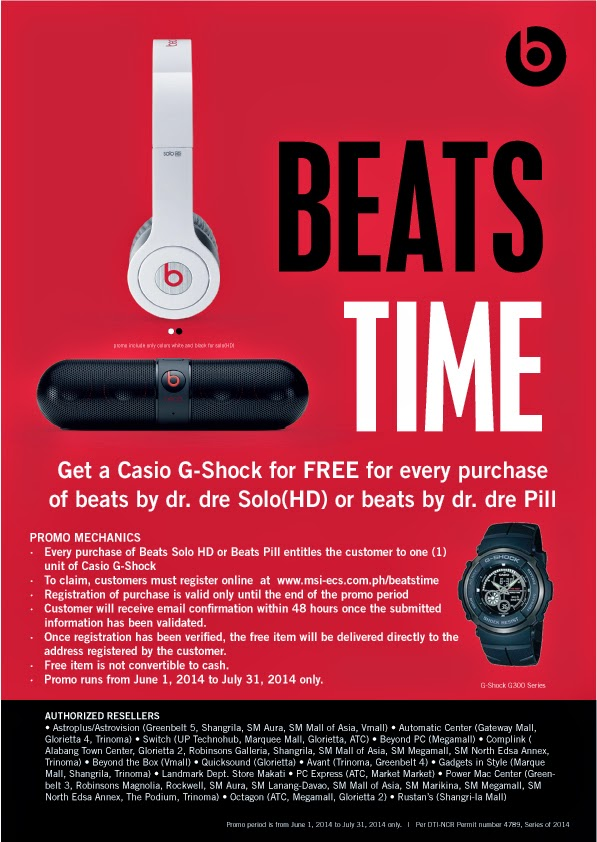 Casio G-Shock Beats by Dr Dre Promo