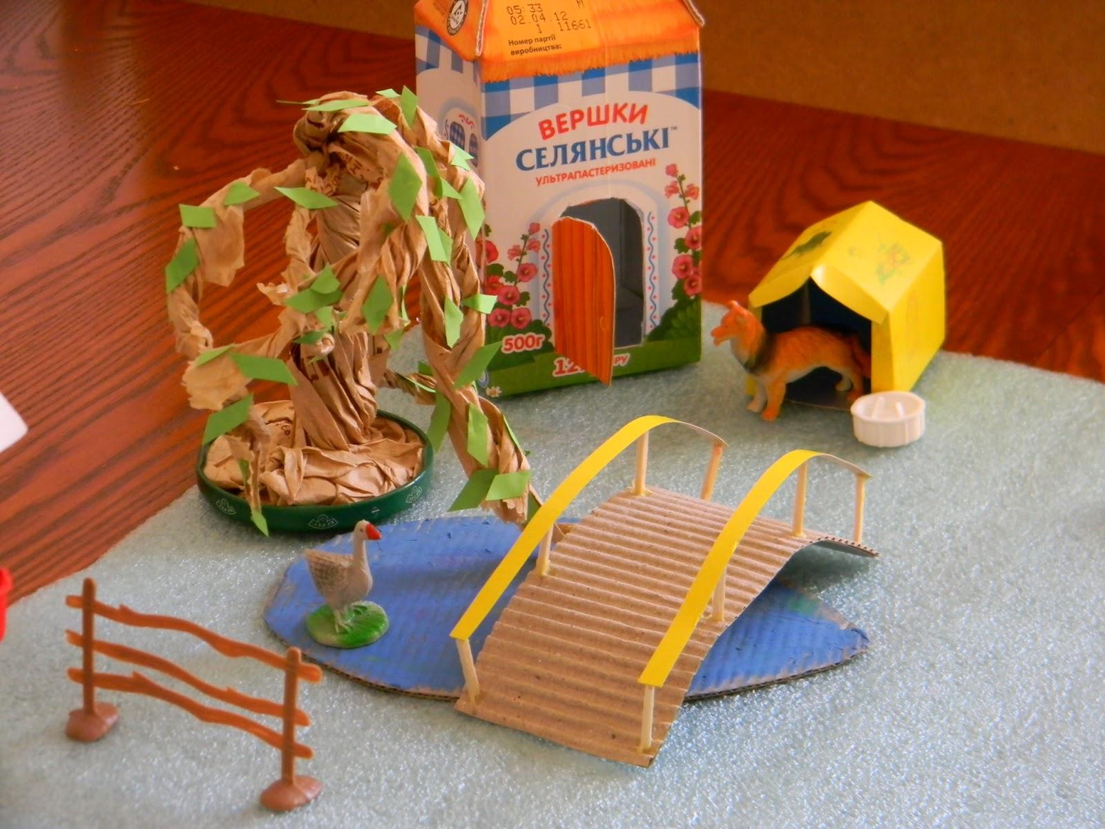 Макет фермы своими руками для детского сада 89