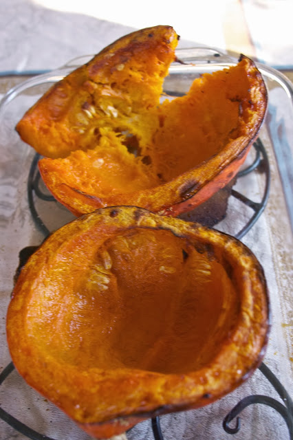 Red Kuri Squash Roasted: Simple Living and Eating