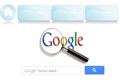 在Blogger導覽列安裝搜尋框__Google自訂搜尋+語音功能