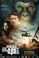Download Rise of the Planet of the Apes (2011) PPVRip 400MB Ganool