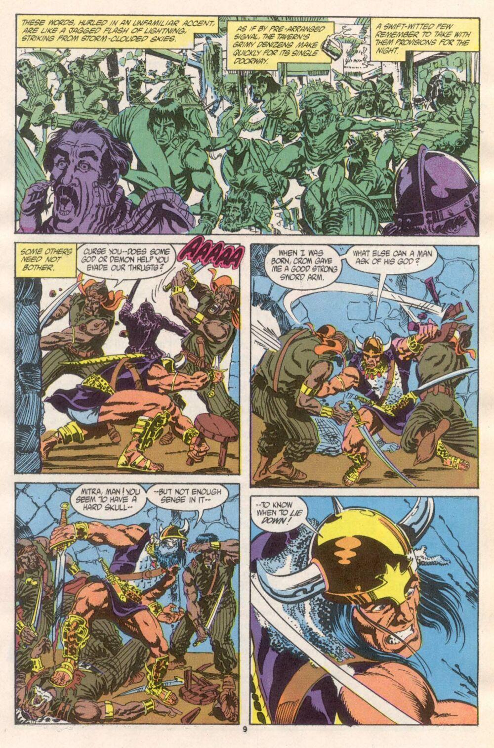 Conan the Barbarian (1970) Issue #241 #253 - English 8