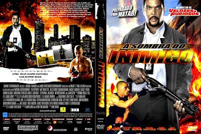 A Sombra do Inimigo DVD Capa