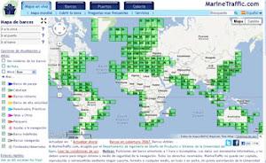 Mapa de barcos-AIS