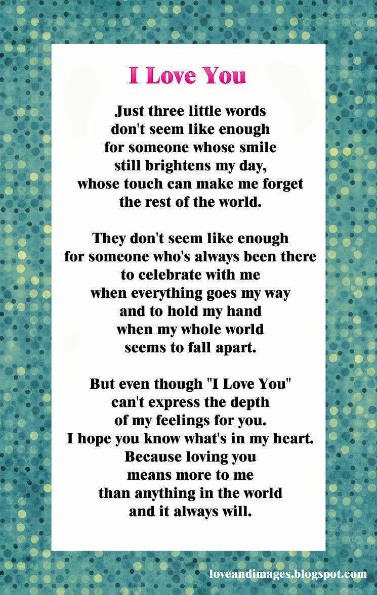 Poemas En Ingles Love Poems