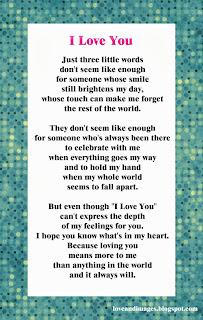 Poemas en ingles de amor