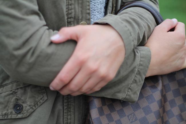 herbstlook - kaltes wetter stylisches outfit - louis vuitton damier ebene speedy - jeans miss sixty - parka mavi wie kombinieren - herbstlook - look fuer kaelte tage - klagenfurt - fashionblogger oesterreich austria kaernten klagenfurt koettmannsdorf
