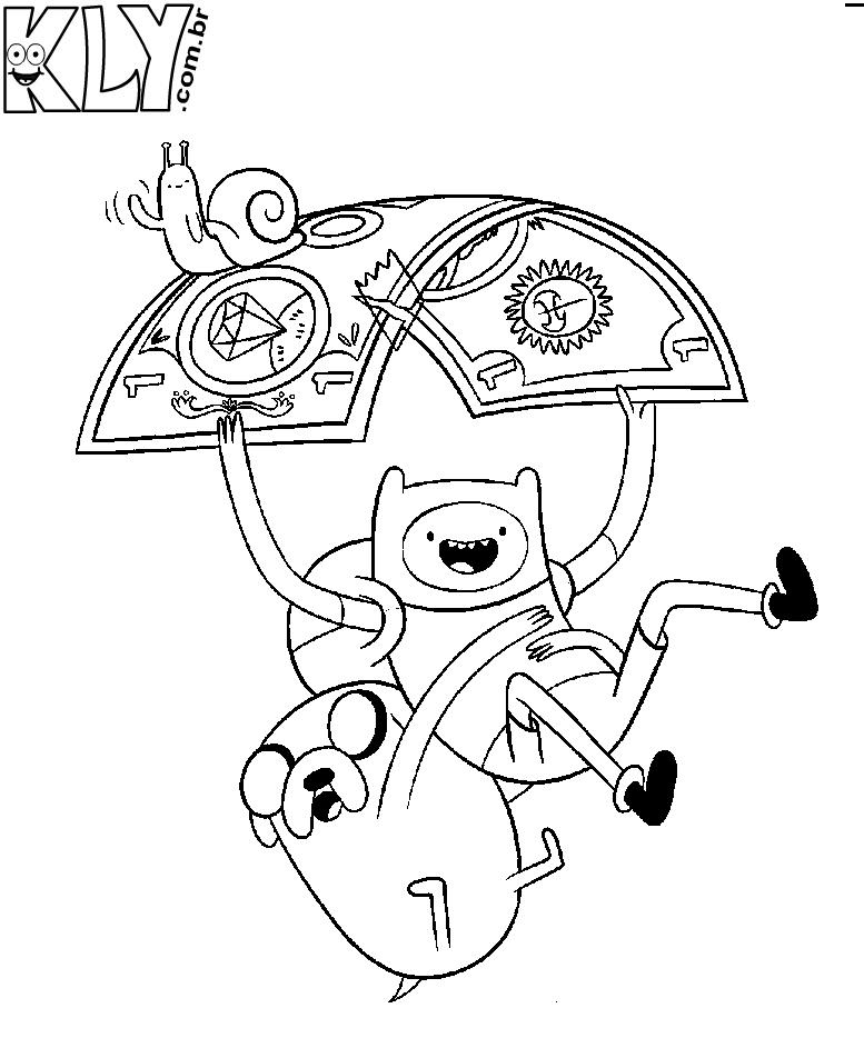 Hora de aventura desenhos para colorir blog liu castelly for Adventure time coloring page