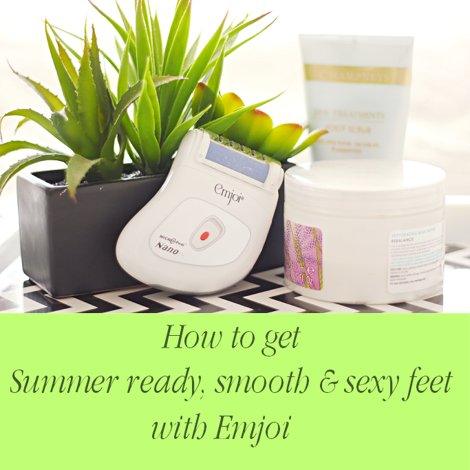 Emjoi® Micro-Pedi Nano Review, How to do pedicure at home, Quick pedicure tips