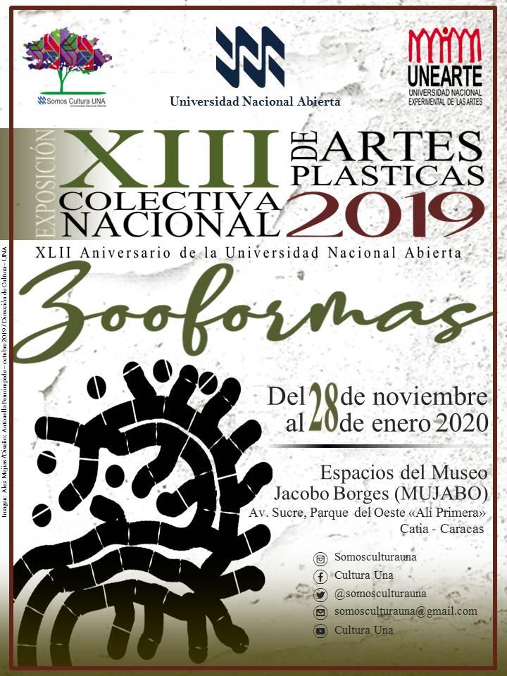 XIII Colectiva Nacional  de Artes Plasticas 2019