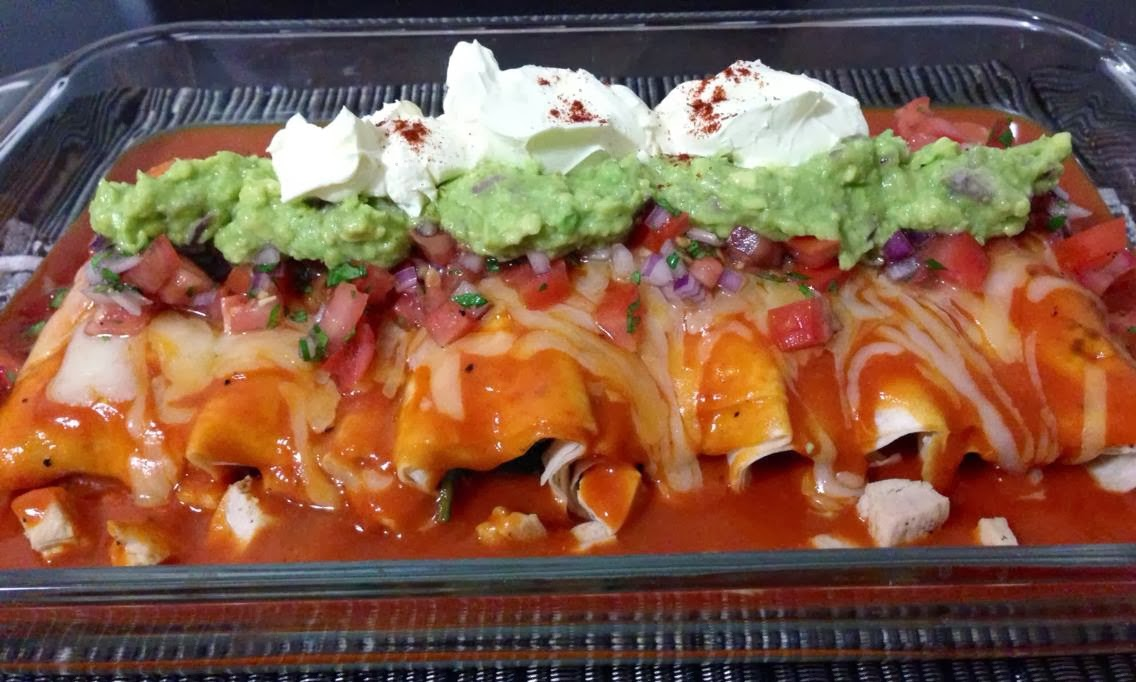 Its A Momsies World Chicken Enchilada Recipe Inspired By Tyler