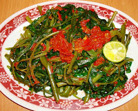 Resep Masakan Plecing Kangkung