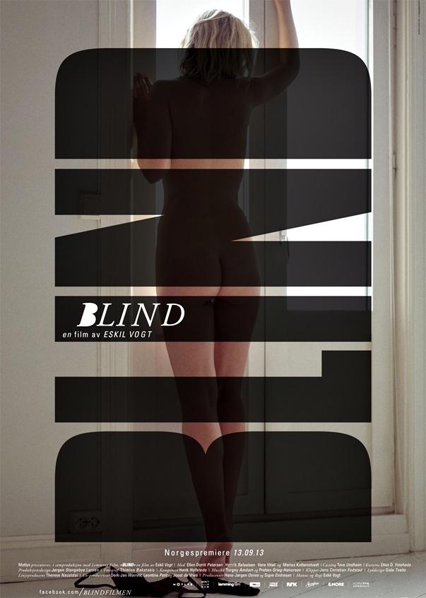 Póster Blind, de Eskil Vogt