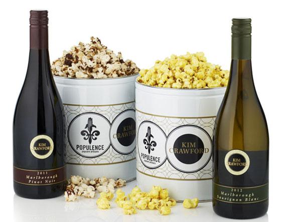 Wine with Popcorn?