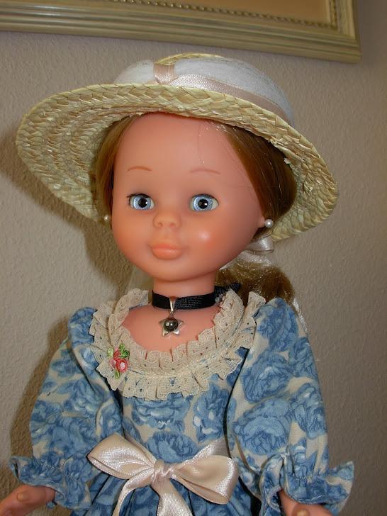 Nancy articulada Nostalgia azul (original)
