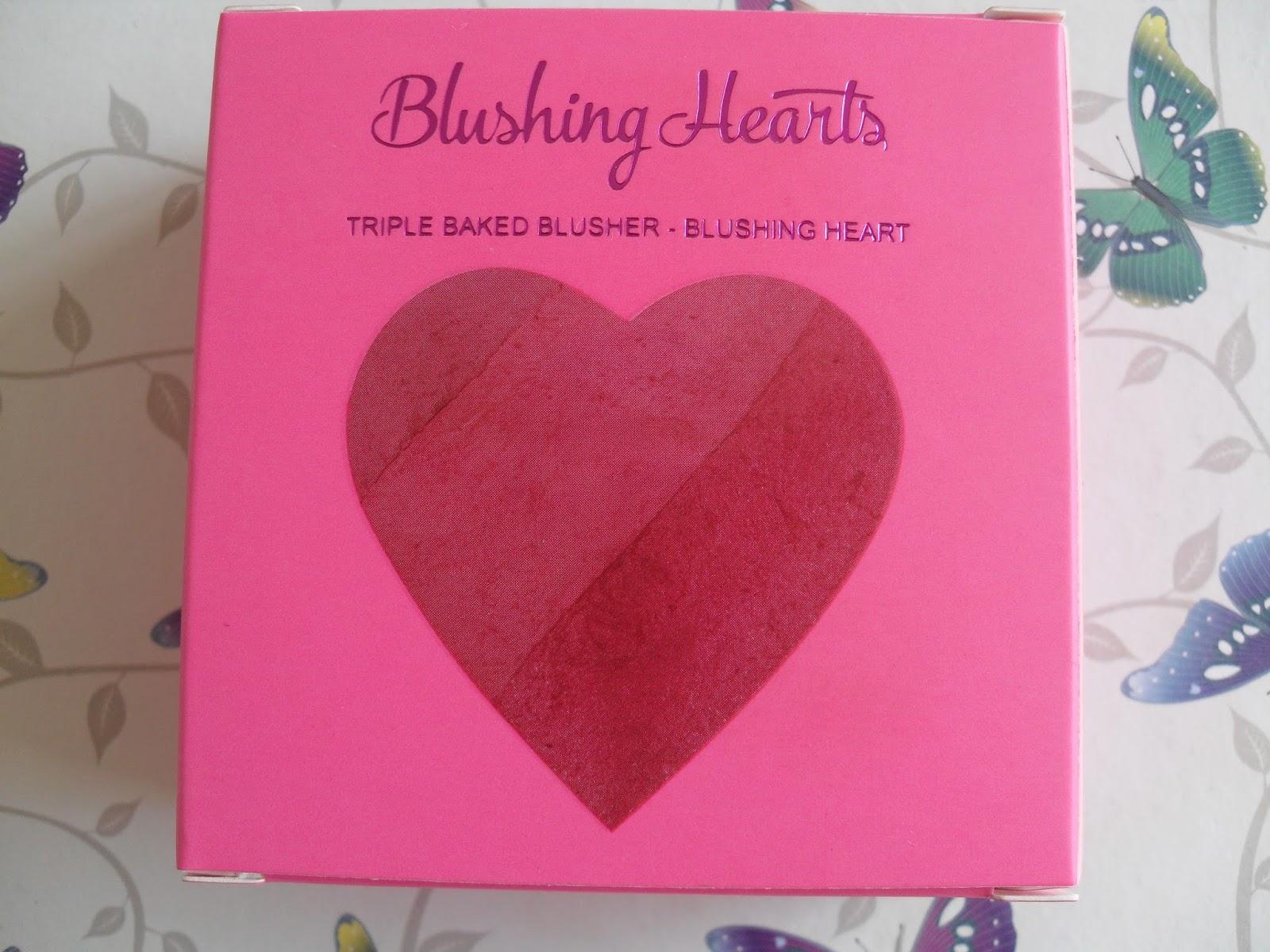 Makeup Revolution I ♡ Makeup Blushing Hearts - Blushing Heart Blusher