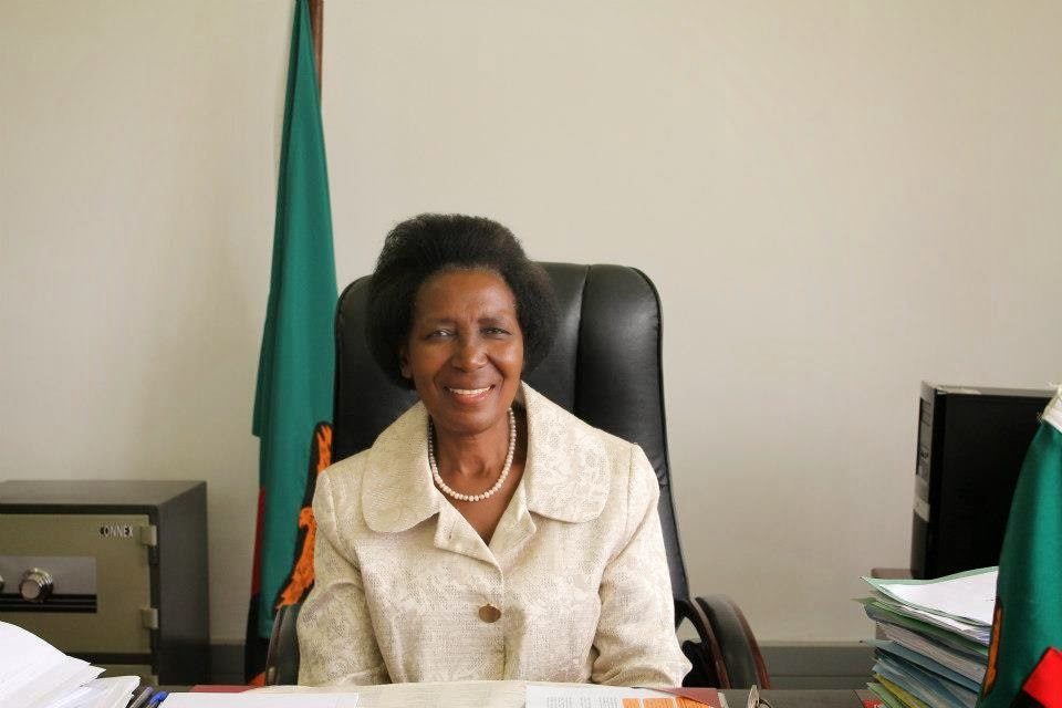 The Zambian Analyst Background Of Inonge Wina Zambias First