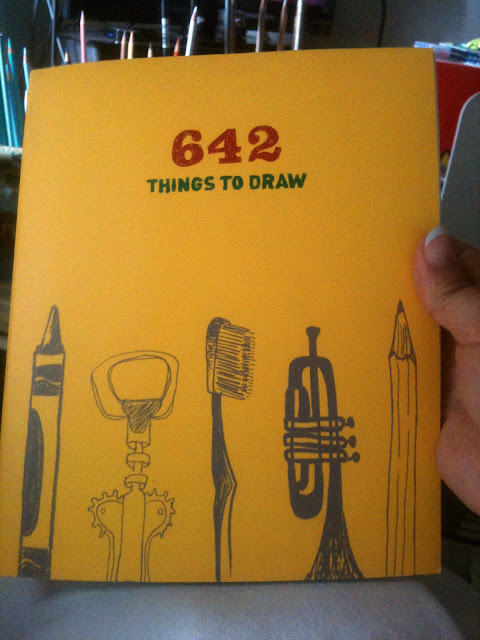 Photo of book: 642 Things to Draw. Photo by © Ana Tirolese