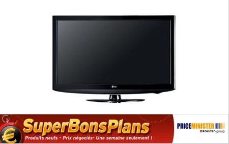 TV LCD LG 82 cm à 216.11€ au lieu de 349€ bon plan tv pas cher