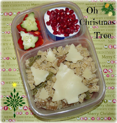 Christmas tree easylunchboxes bento