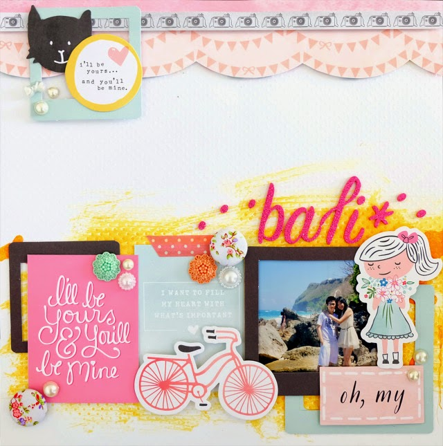layout created by Merwyn for Mei Li Paperie July colour challenge