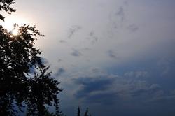 Wetterwechsel...