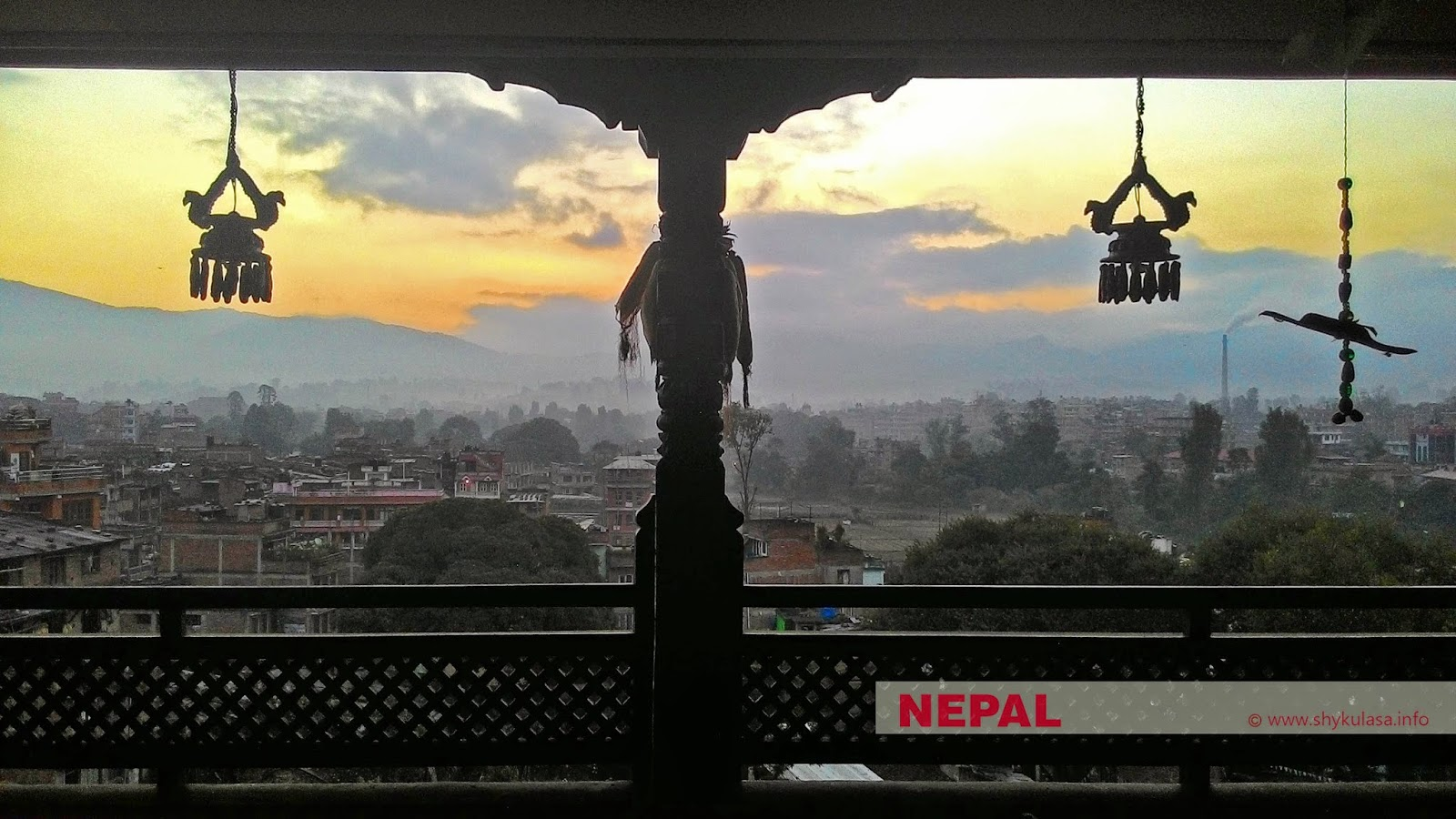 A new day in Bhaktapur, Nepal