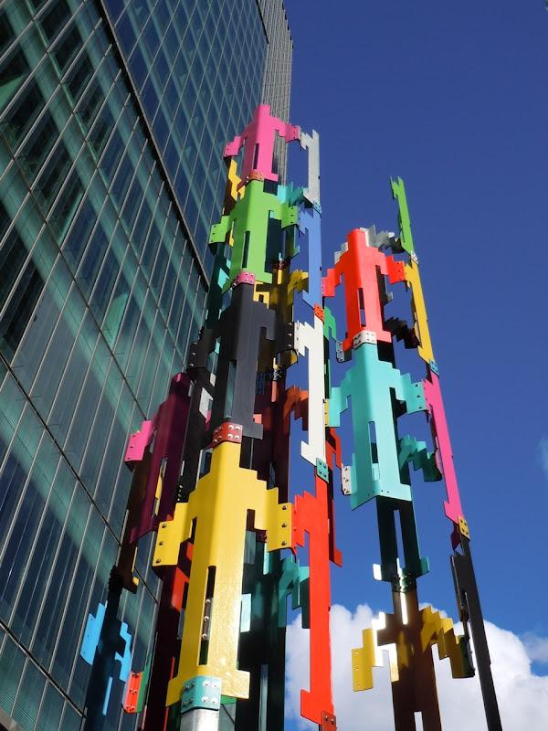 Human Structures Jonathan Borofsky San Francisco