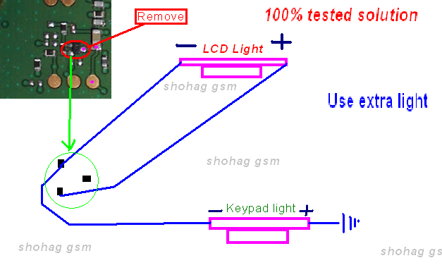 Iphone 4s Lcd Light Solution Nokia 101 Lcd Light Solution