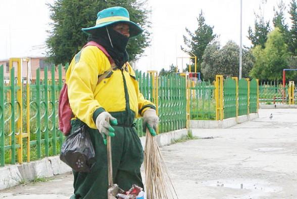 Trabajo de la mujer en Bolivia