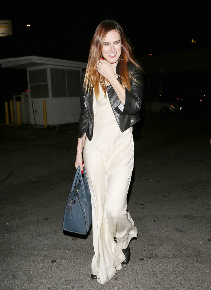Rumer Willis at the Sayers Club in Los Angeles
