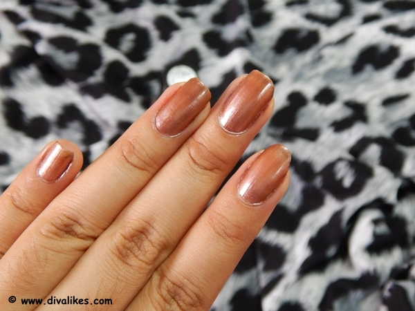 The Metallic Touch Gives A Subtle Sheen To Color Which Looks Beautiful On Indian Skin