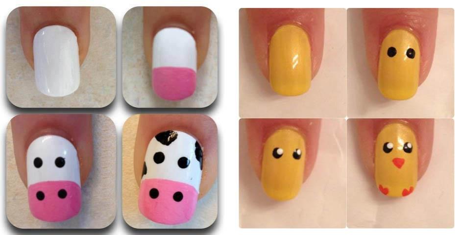 Mujeres con estilo nail art dise o de u as para todos - Unas faciles paso a paso ...