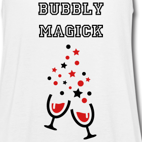 Witch On Wine T-Shirts