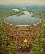 El salón de lectura