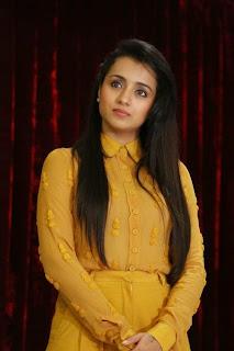 Trisha Latest Pictures at Cheekati Rajyam First Look Launch