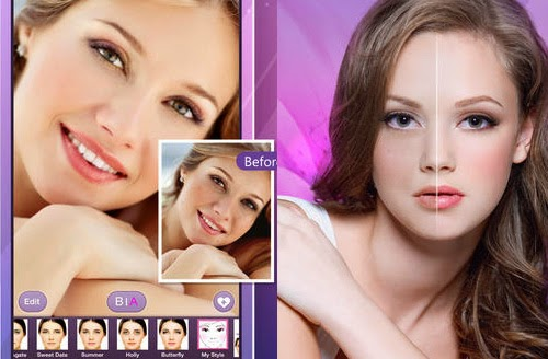 Aplikasi Foto Selfie Perfect 365