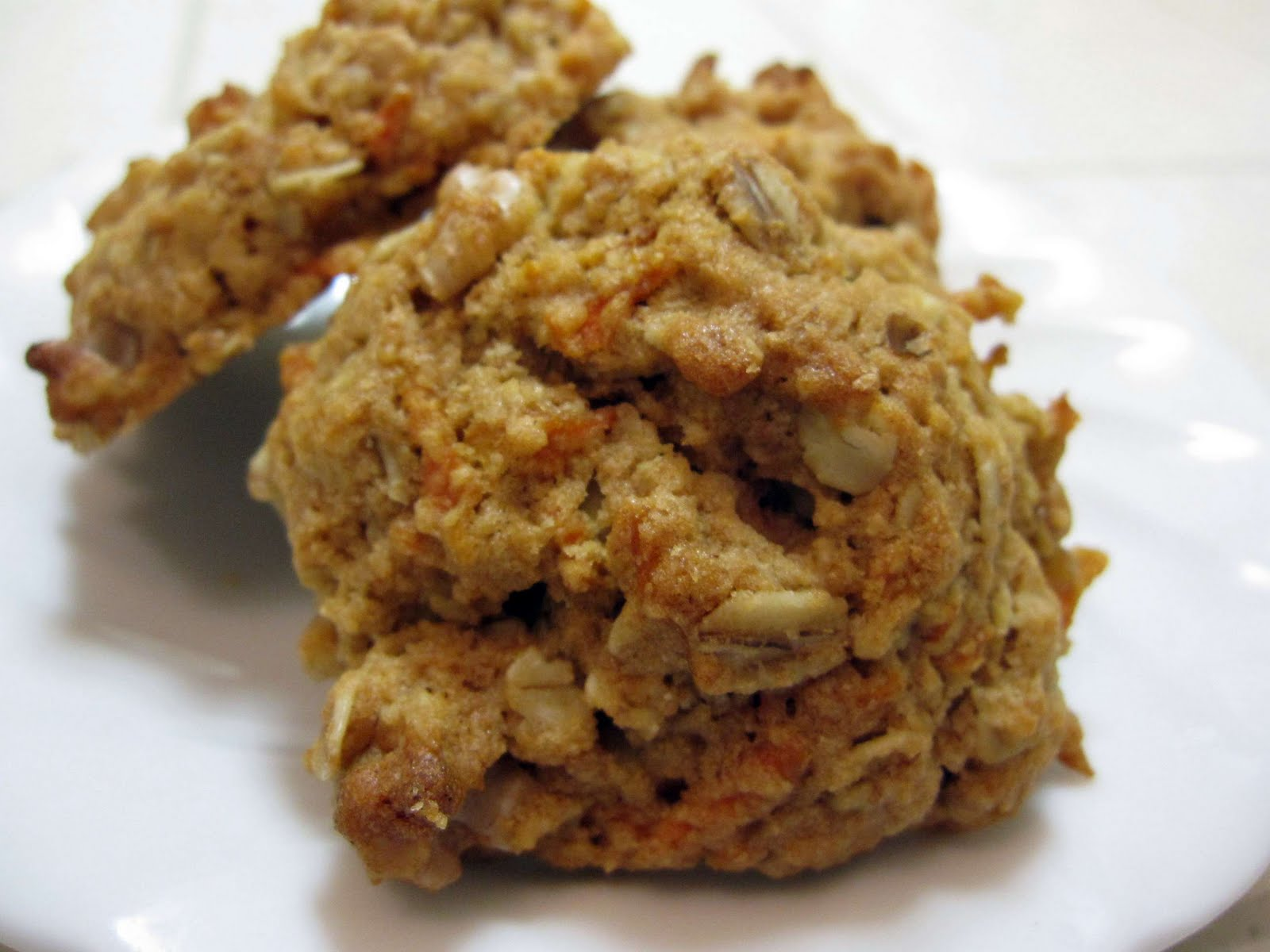 The Scratch Patch: Carrot Oatmeal Cookies