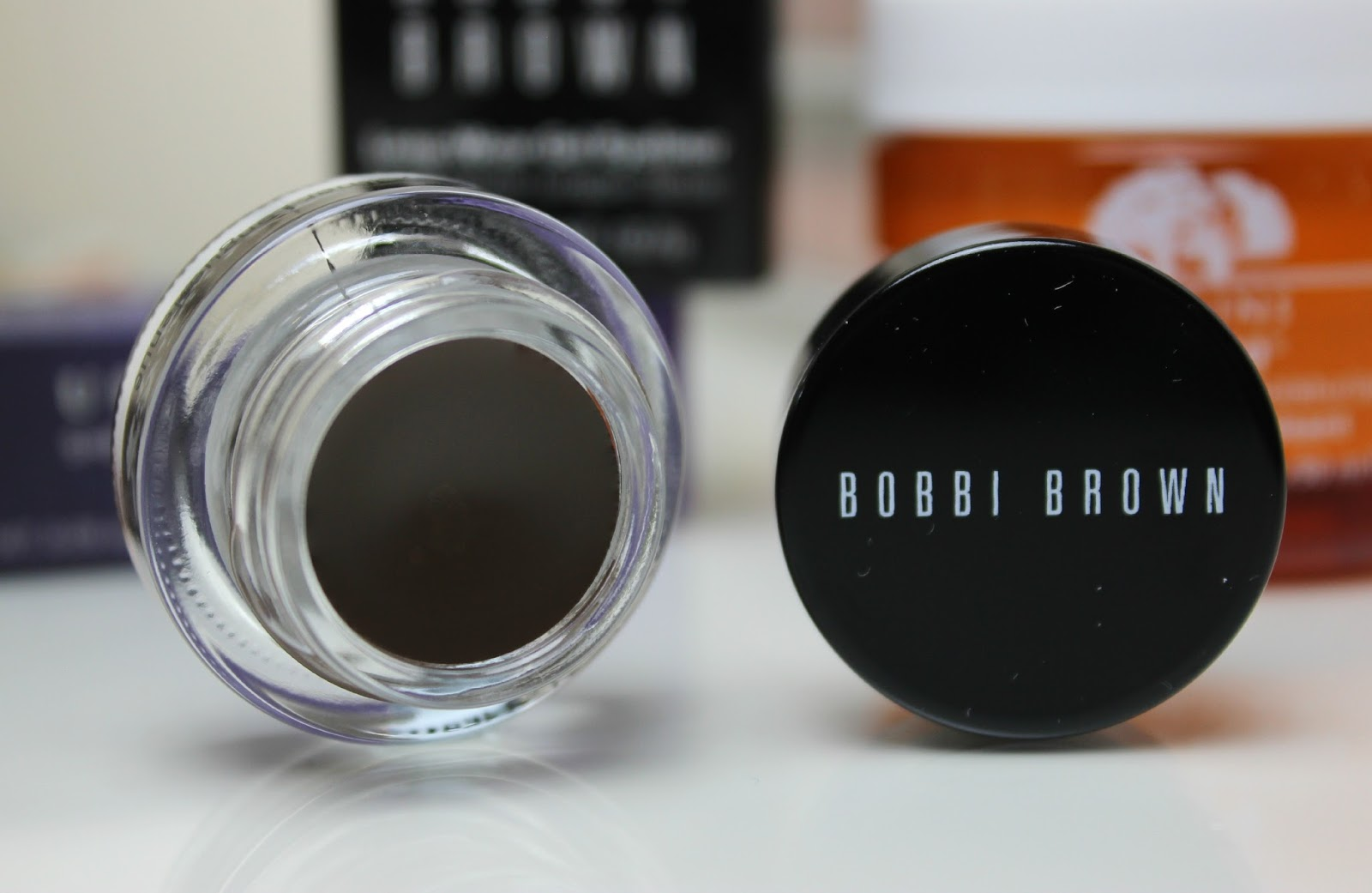 A picture of Bobbi Brown Long-Wear Gel Liner in Sepia Ink