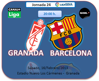 InfoDeportiva - Informacion al instante. REPETICION GRANADA VS FC BARCELONA. Goles, Resultados, Estadisticas, Online