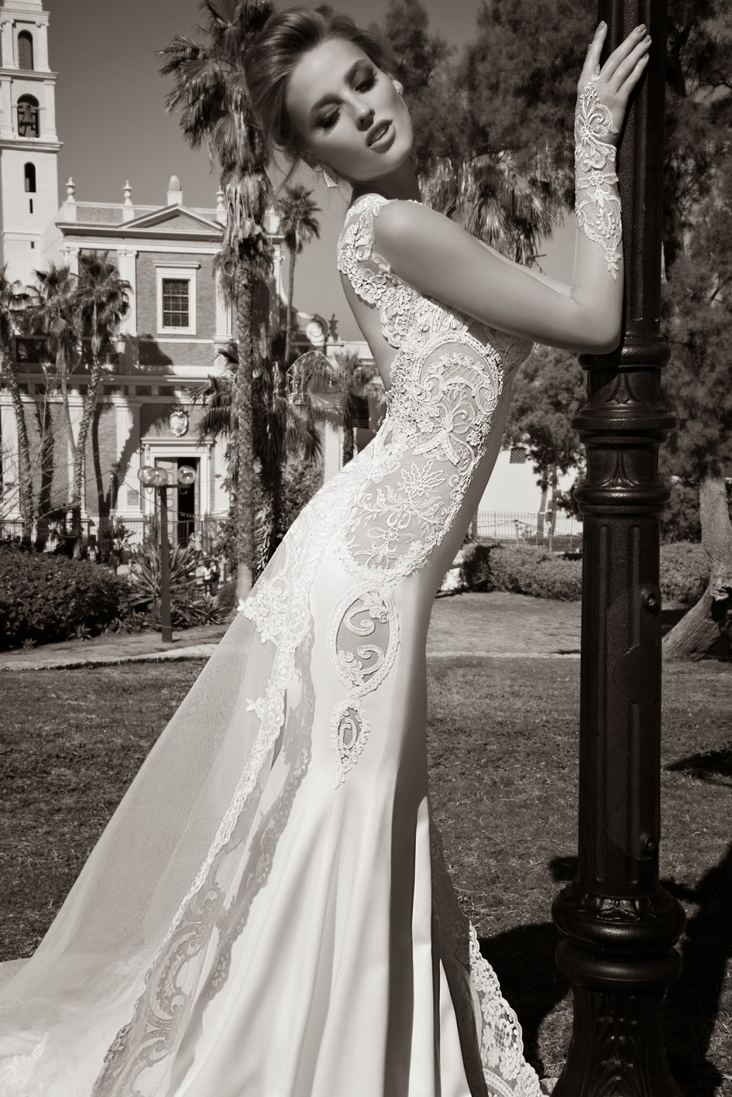Alora Galia Lahav wedding dress 2015