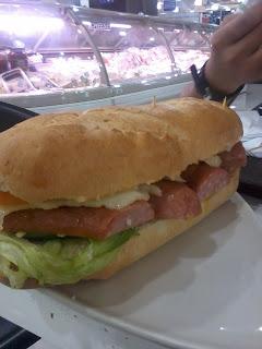 Gourmet Sandwich - Make Your Own Sandwich, Shopwise Cubao