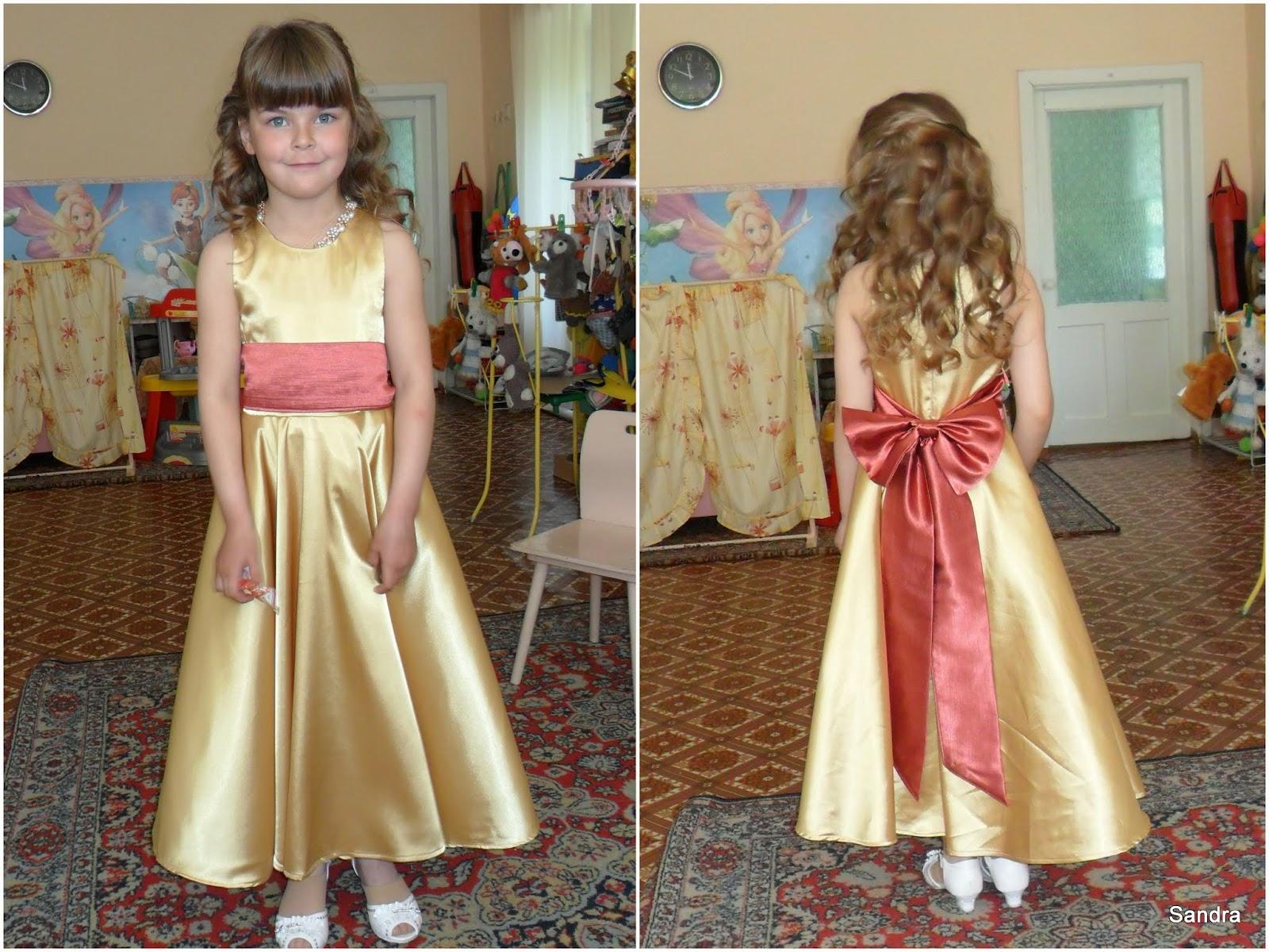 Платье на выпускной в садик своими руками мастер класс 1