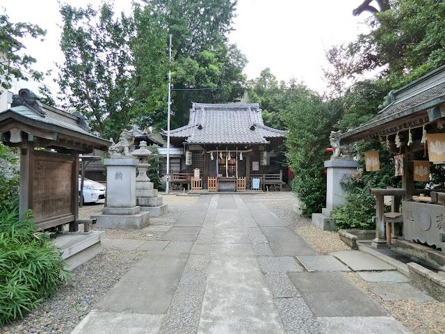 御嶽神社,本殿,池袋〈著作権フリー無料画像〉Free Stock Photos