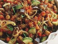 Refogado de Legumes (vegana)