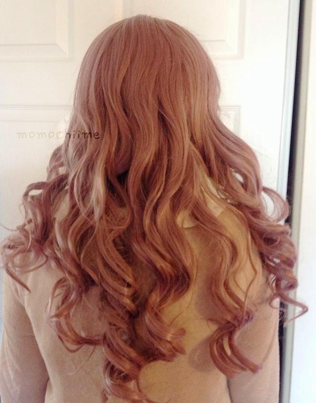 Lolita Lavendar Beach Waves Wig